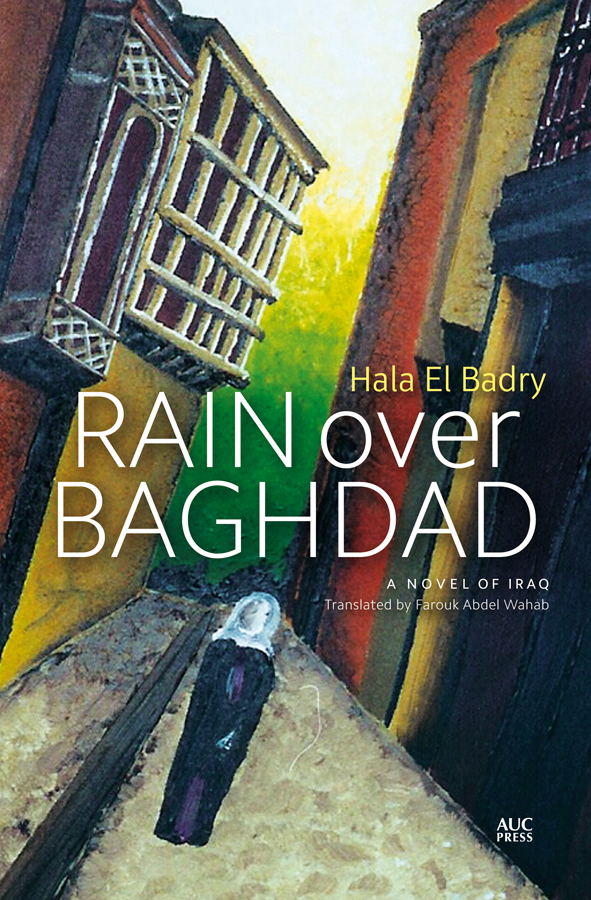 Rain over Baghdad_book cover