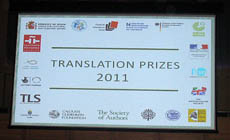 Translation prizes 2011